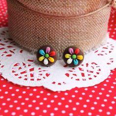 Cercei multicolori   Nicomade.ro
