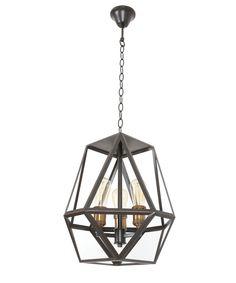 Beacon lighting $440 Vaille 3 Light Pendant in Oil Rubbed Bronze | Pendant Lights | Lighting