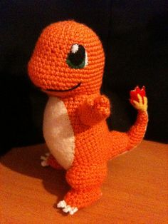 Pokemon Crochet Pattern, Crochet Patterns Amigurumi, Crochet Dolls, Amigurumi Doll, Crochet Crafts, Easy Crochet, Crochet Projects, Knit Crochet, Tsumtsum