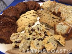 Serious Bread in Old Town Bay St. Louis, Mississippi will always have you coming back for French bread, scones, muffins and more! #EatMSCoast