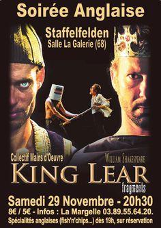 Soirée Anglaise - King Lear fragments, Staffelfelden (68850), Alsace