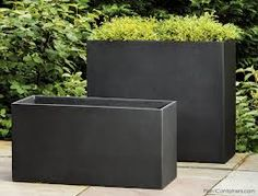 Image result for high planter boxes for privacy