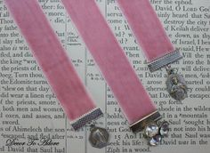 Velvet bookmarks by Decor To Adore