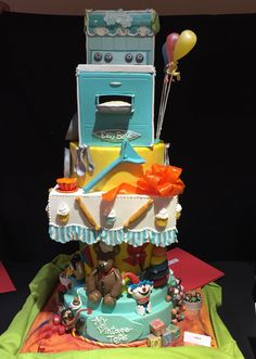 Vintage toys/pastry live 2015