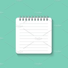 Textures Notebook Paper Design - Powerpoint Templates and ...