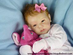 Reborn baby doll (Kit Gabriel por Michelle Fagan)