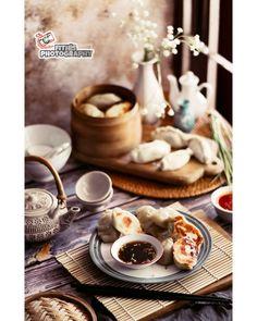 Food Drawing, Dumpling, Food Food, Food Photography, Asian, Cheese, Food And Drink, Foods, Box