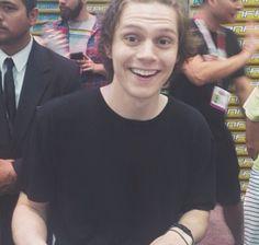 HE LOOKS SO HAPPY YAYA