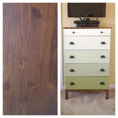 Hello! Upholstery + Blog: Before & After: Ikea Tarva Dresser