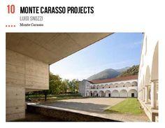 Monte Carasso : Luigi Snozzi | 2016 Noord-Italië
