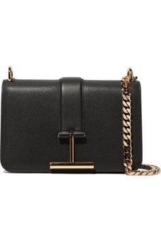 TOM FORD | Tara textured-leather shoulder bag | NET-A-PORTER.COM