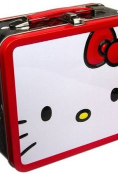 Hello Kitty With Red Bow Lunch Box - Hello Kitty - Brands Hello Kitty Handbags, Loungefly Hello Kitty, Hello Kitty Items, Hello Kitty Collection, Kawaii, Sanrio, My Little Pony, Brand Names, Bag Accessories