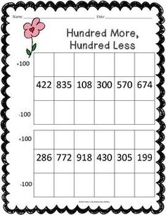 FEBRUARY MATH WORKSHEET PACK {2ND GRADE}: