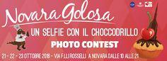 """photo contest """"un selfie con il choccodrillo"""""""