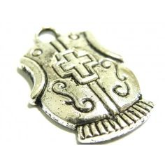 Breastplate charm Make your own charm bracelet with this breastplate charm from the Armour of God range in nickel silver. Armor Of God, Make Your Own Jewelry, Nickel Silver, Jewelry Findings, Armour, Charmed, Range, Make It Yourself, Personalized Items