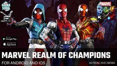 Marvel Realm of Champions Gameplay | 3v3 Battle | Gamesoda - YouTube Marvel Games, Free Mobile Games, Deadpool, Spiderman, Battle, Champion, Superhero, Guys, Youtube