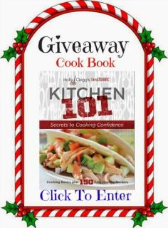 "Win a Holly Clegg Cookbook #HolidayGiftGuideBloggers100 Holly is known as the ""Queen of Quick"" has used this motto to guide her through the creation of her trim&.TERRIFIC® cookbook series, which has sold over one million books! Gold Recipient of prestigious Mom's Choice Award. Award-Winner in General Cookbook' category of 2012, sponsored by USA Best Book Awards, with USA Book News. Bargnhtress Reviews"