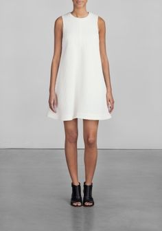 Cotton A line dress from & other stories