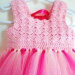 Kumaşla Örgü Kız Çocuk Elbise Modelleri ve Yapılışı 96
