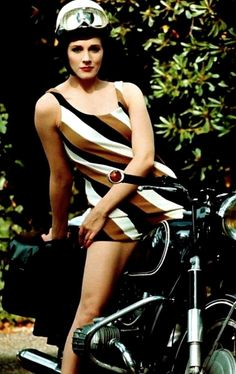 BMW. 1960. Julie Andrews