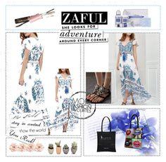 """Zaful# II-122"" by merima-musanovic ❤ liked on Polyvore featuring J.Crew, Kate Spade and zaful"