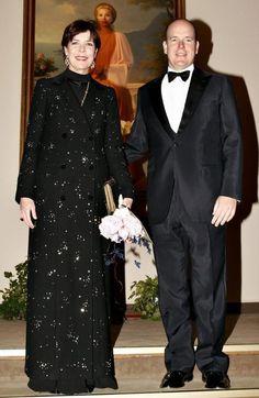 Prince Albert and Princess Caroline