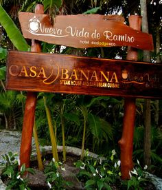 CASA BANANA . Seafood and Steakhouse . Tulum . Mexico | Restaurant