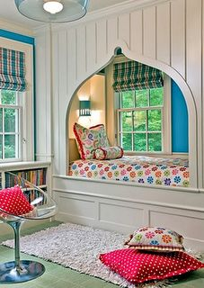 Fancy book nook.if we get our own place.......we HAVE to make a booknook somewhere!!