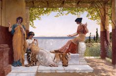 On the Balcony Godward, John William 1898