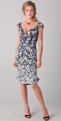 Ugh perfect. Only Zac Posen could make you say 'sexy' and 'flocked jacquard' in the same sentence.