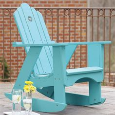 Marion Indoor/Outdoor Rocking Chair. two of the these on the front porch please:))))