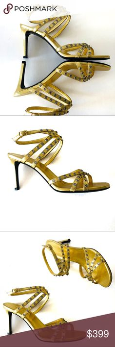 d1c73e81413 YSL sandals, worn once YSL sandals, worn once. Beautiful shoe, but they