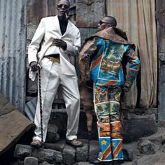Congolese #Sapeurs shot by Per-Anders Pettersson.