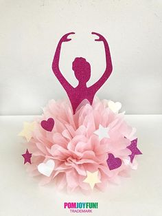 Ballerina party decorations ballet party ideas ballerina centerpiece cake topper ballerina theme party for baby shower first dance party Ballerina Centerpiece, Ballerina Party Decorations, Ballerina Birthday Parties, Party Table Decorations, Baby First Birthday, Party Centerpieces, First Birthday Parties, Party Themes, Party Ideas