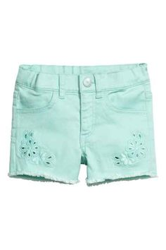 H&M - Embroidered shorts £6.99