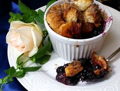 Berry Brown Betty: A delectable way to use up fresh berries! http://atableatrobertridge.blogspot.com/2014/08/berry-brown-betty.html