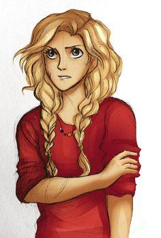 Get em, Annabeth.