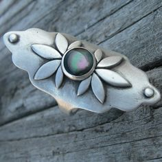 Aestes Sterling Silver Goddess Ring Oyster Shell by westbyron