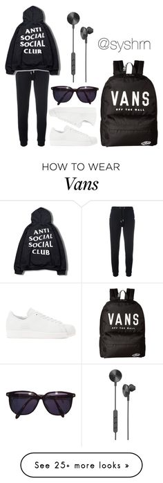 """Untitled #652"" by syshrn on Polyvore featuring Zoe Karssen, adidas Originals, Vans, Sonia Rykiel and i.am+"
