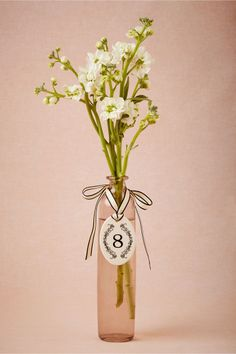 Chaplet Number Tags from BHLDN