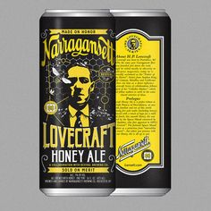 H.P. Lovecraft's Weird Fiction Has Inspired A Line Of Beer   Co.Design   business + design
