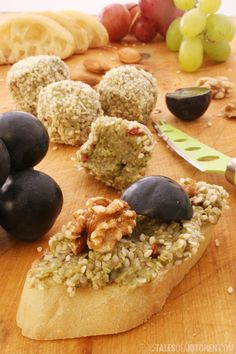Creamy avocado bites wrapped in sesame seeds can make excellent cheese substitute for cheese platter! Plus a giveaway.