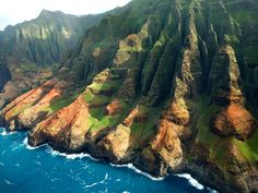 Na Pali Coast of Kauai, Hawaii