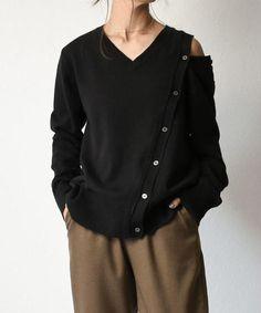 Simple Style, My Style, Miss Match, Knitwear Fashion, Fashion Outfits, Womens Fashion, Tees, Shirts, Knitting