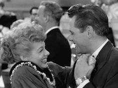 Lucy and Desi...I love this picture! There dance when Ricky finally realized that Lucy was pregnant. <3