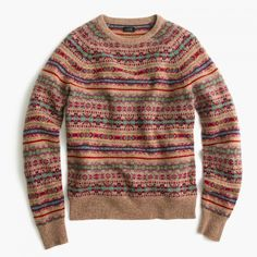 Fair Isle Print Sweater   Fair Isle Sweater J Crew   Fair Isle Sweater