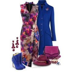 Colorfully Chic Winter Fashion