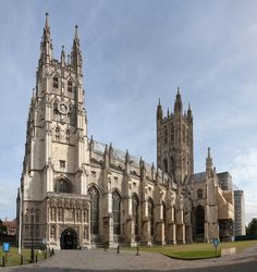 Originally established in the Cathedral and its precincts are both an important Place of Worship and a major part of a World Heritage Site. The Cathedral, Canterbury Cathedral, Cathedral Architecture, Anglican Church, English Heritage, Old Churches, Building Structure, Famous Places, Place Of Worship