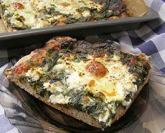 W Mojej Kuchni Lubię.. : pizza szpinakowo-jajeczna...