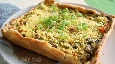 The Veggie Snack Shack: Paprika-champignon quiche